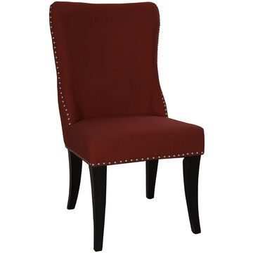 Liberty Linen Upholstered Dining Chair (Set of 2)