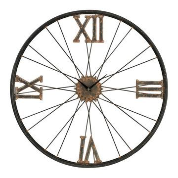 Sterling Industrial Wall Clock