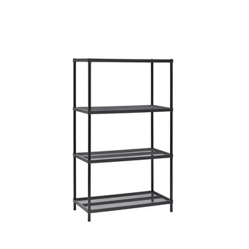 4-Tier Mesh Shelving Unit