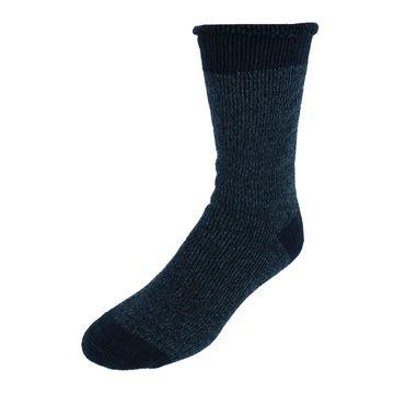 Dearfoams Men's Brushed Cabin Slipper Socks