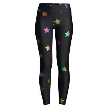 Terez Rainbow Star Foil Print Leggings