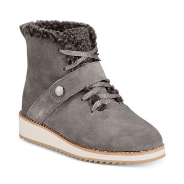 Style & Co. Womens Elissaa Leather Closed Toe Ankle Cold