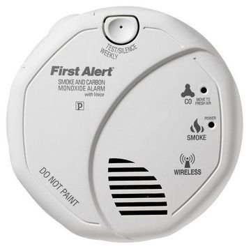 First Alert SCO501CN-3ST Battery Operated Combination Smoke and Carbon