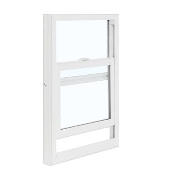 ReliaBilt 3050 Series 35.5-in x 35.75-in x 2.625-in Jamb Vinyl Replacement White Single Hung Window
