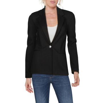 L'Agence Womens Scout One-Button Blazer Ponte Office - Black