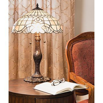 Warehouse of Tiffany Indoor Table Lamps Bronze - Tiffany Baroque Table Lamp