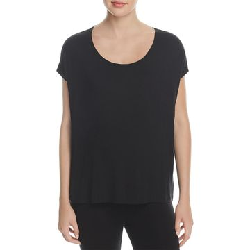 Beyond Yoga Womens Open Back Strappy T-Shirt