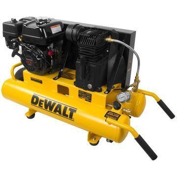 DEWALT DeWALT 8-Gallon Portable Gas Twin Stack Air Compressor