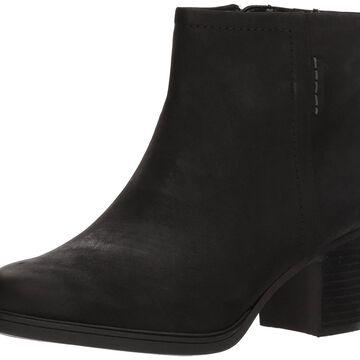 Cobb Hill Womens Natashya Leather Almond Toe Ankle