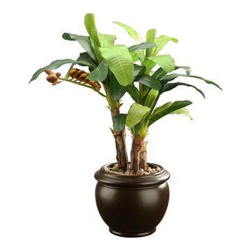 National Tree Company Artificial Banana Plant