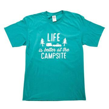 Camco Mfg 53217 T-Shirt Teal Small