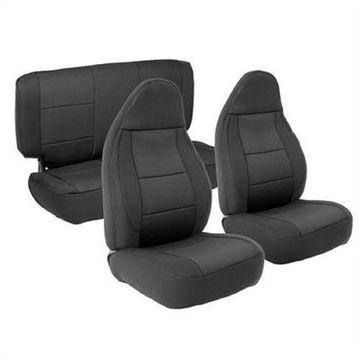 Smittybilt 471301 Seat Covers Black Neoprene For 2003-2006 Jeep JK Wrangler