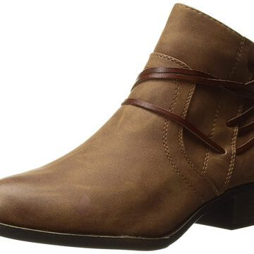 Madden Girl Womens Become Almond Toe Ankle Fashion Boots