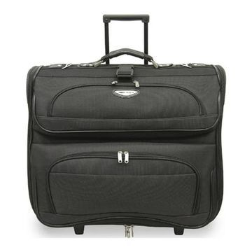 Traveler's Choice Amsterdam Rolling Garment Bag TS-6944 Dark Gray - US One Size (Size None)
