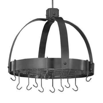 Old Dutch Graphite Hanging Dome Pot Rack