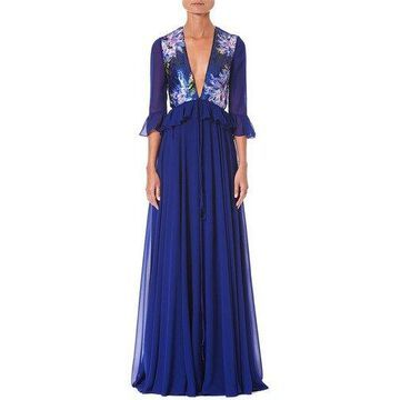 Carolina Herrera Womens Gown