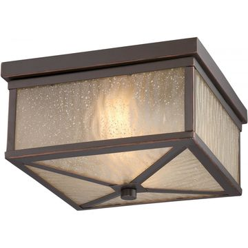 Haven LED Outdoor Flush