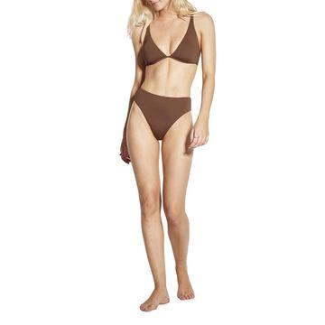 Split Wire Bra Underwire Bikini Top