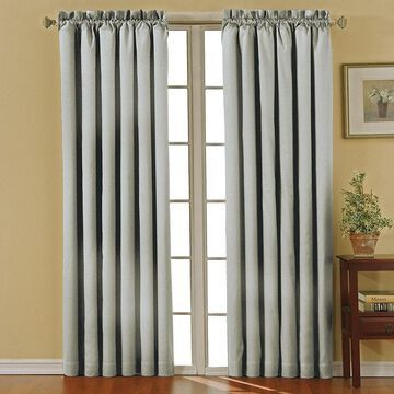 Eclipse Canova Rod-Pocket Blackout Curtain Panel