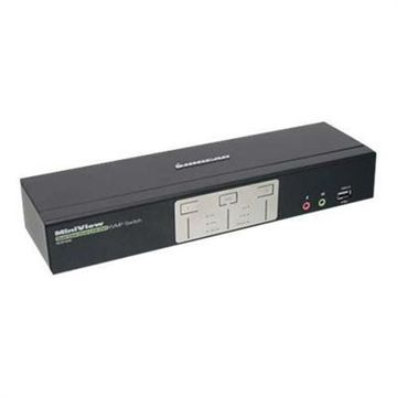 Iogear2-Port DualView Dual-Link DVI KVMP Switch with Audio (TAA Compliant)(GCS1642)