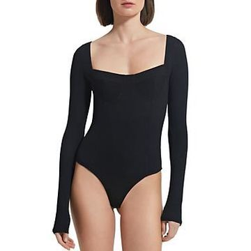 Atm Anthony Thomas Melillo Paneled Bodysuit
