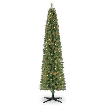 7Ft Pre-Lit Artificial Christmas Tree, Clear Lights by Ashland   Michaels
