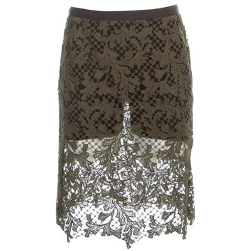 Sacai Embroidery Lace Skirt