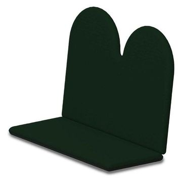 POLYWOOD Full Cushion, Forest Green