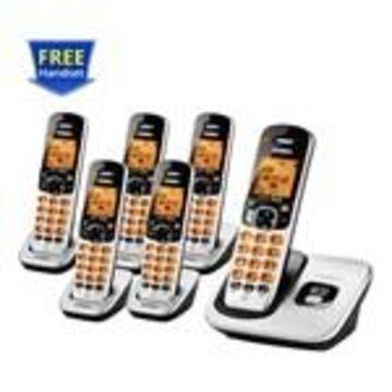 Uniden D1760-6 DECT 6.0 Cordless Phone w/ 5 Extra Handsets