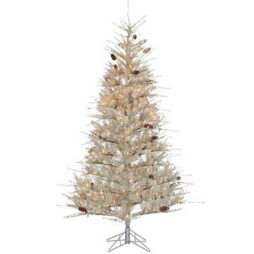 Sterling 7' Sage Frosted Hard Needle Artificial Christmas Tree