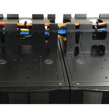 Tripp Lite SRCABLETRAYEXP Rack Enclosure Cabinet Roof Mount Cable Trough Vertical EXP - Pictured (Pictured)