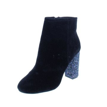 Call It Spring Womens Talcahuano Booties Glitter