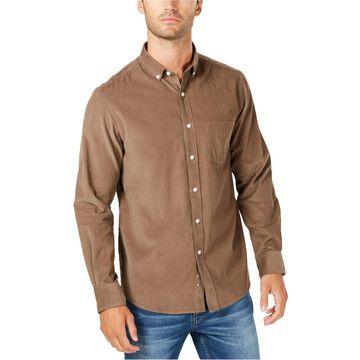 Club Room Mens Corduroy Button Up Shirt