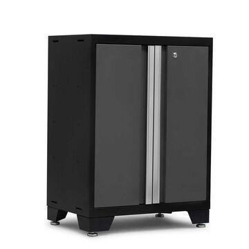 NewAge Products Bold 3.0 Series 2-Door Cabinet - Dark Gray