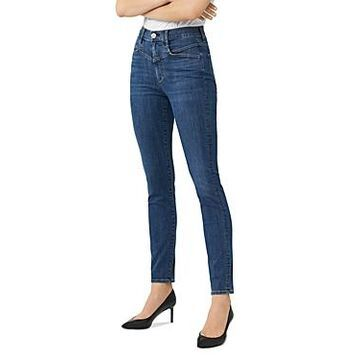 3x1 Jesse High-Rise Straight-Leg Jeans in Charter