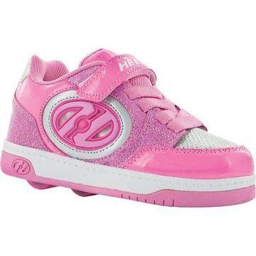 Heelys Children's Bolt Plus X2 Lighted Neon Pink/Light Pink/Silver