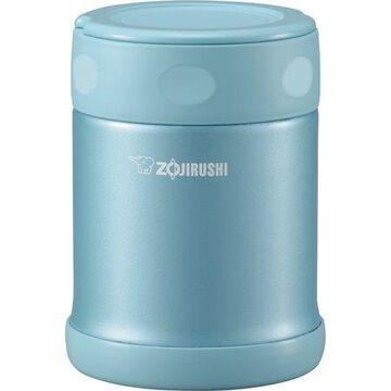 Zojirushi SW-EAE35AB Stainless Steel 12oz. Food Jar, Aqua Blue