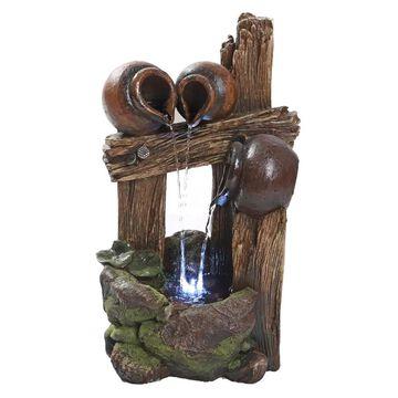 Design Toscano 21.5-in H Resin Rock Fountain Outdoor Fountain   QN164013