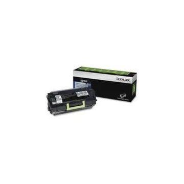 Lexmark 52D1H0L Lexmark 521HL Toner Cartridge - Black - Laser - High Yield - 25000 Label Black - 1 Pack