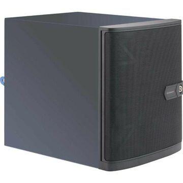 Supermicro Cse-721Tq-250B Superchassis 250W Mini-Tower Server Chassis Black