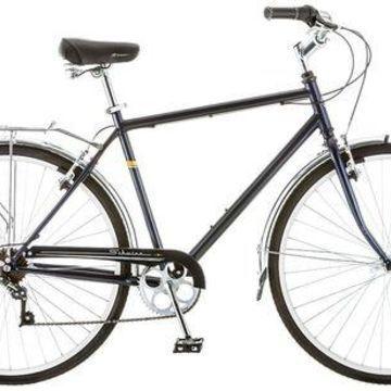 ''Schwinn Mens Wayfare Hybrid Bike, Blue''
