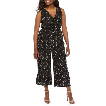 Alyx Sleeveless Dot Print Jumpsuit