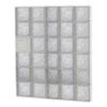 REDI2SET Ice Glass Pattern Frameless Replacement Glass Block Window (Rough Opening: 38-in x 48-in; Actual: 36.75-in x 46.5-in)