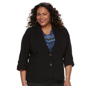 Plus Size Napa Valley Linen Jacket