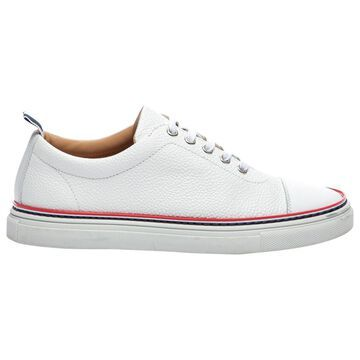 Thom Browne White Leather Trainers