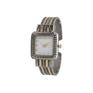 Olivia Pratt Womens Two Tone Bracelet Watch-A916977twotone