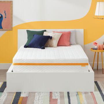 "Simmons Sleep On 10"" Hybrid Mattress in a Box, Medium Firm, Full"