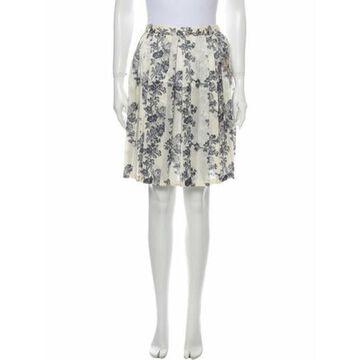 Floral Print Knee-Length Skirt w/ Tags