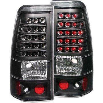 ANZO USA 311012 99-02 SILVERADO 1500/2500/99-06 SIERRA 1500/2500 LED BLACK TAIL LIGHT