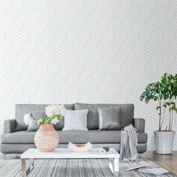 SomerTile 8.63 x 9.88-Inch Oporto Savonas Hex Porcelain Floor and Wall Tile, Aqua (25 tiles/11.56 sqft.)